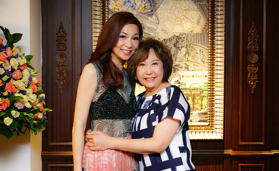 Dr. Margaret Lee & Mrs. May Leung