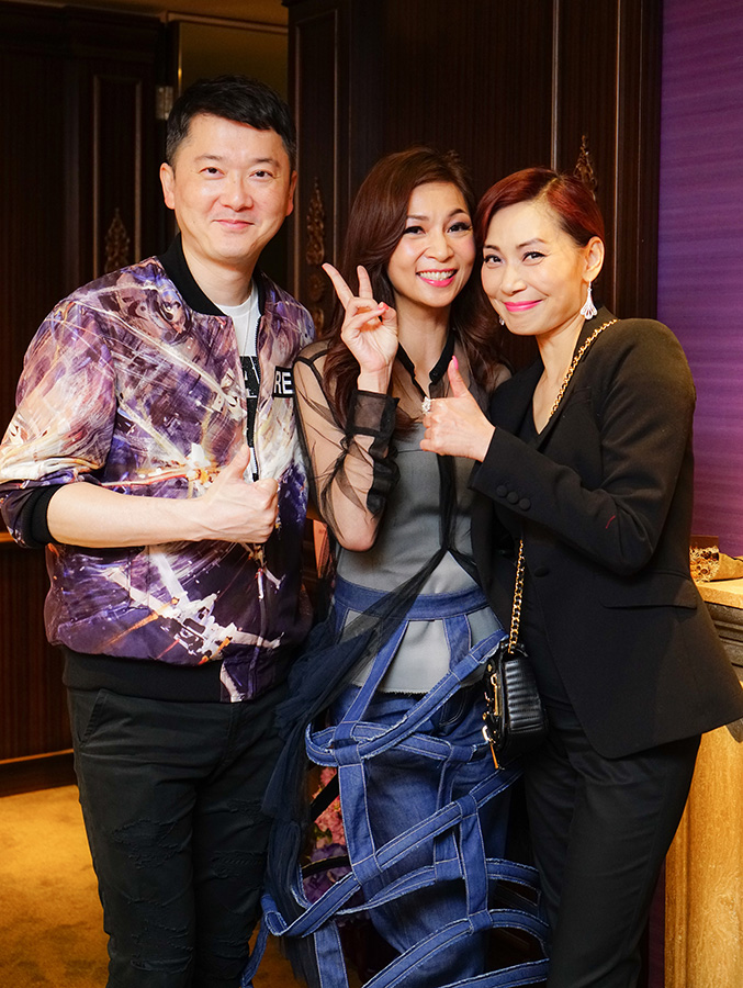 Mr. Jeffery Yau, Dr. Margaret Lee & Ms. Cally Kwong