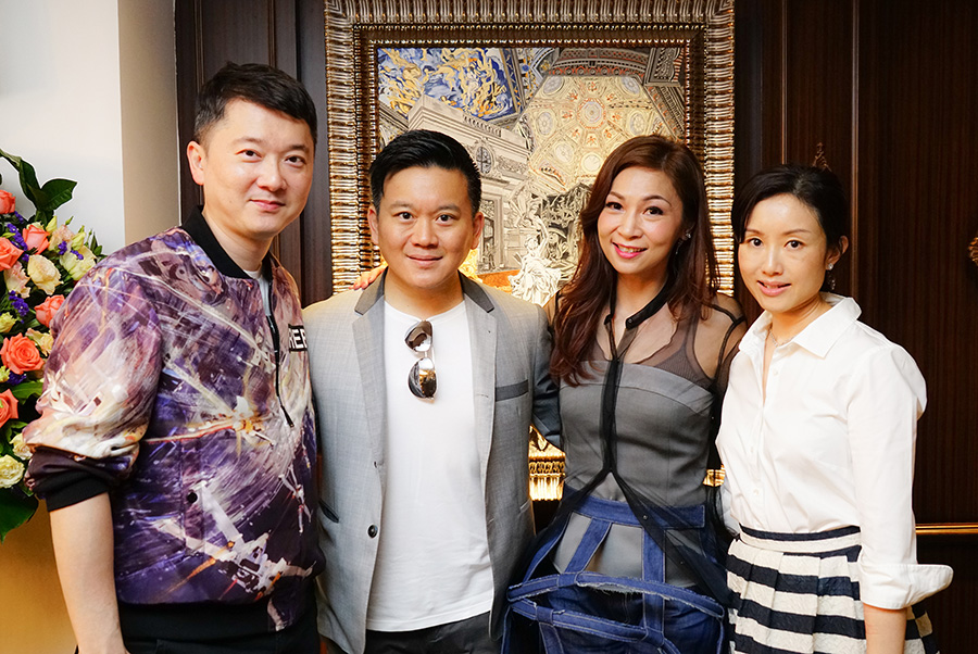 Mr. Jeffery Yau, Mr. Derek Yeung, Dr. Margaret Lee & Mrs. Liana Yeung