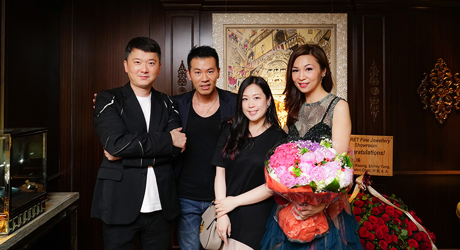 Mr. Jeffery Yau, Mr. Princeton Cheung, Mrs. Wendy Cheung & Dr. Margaret Lee