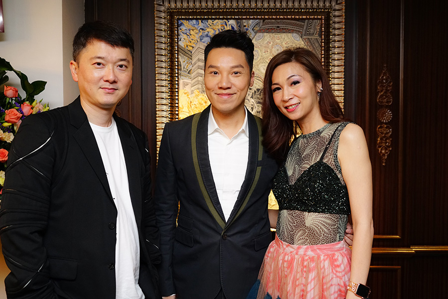 Mr. Jeffery Yau, Mr. Vinci Wong & Dr. Margaret Lee
