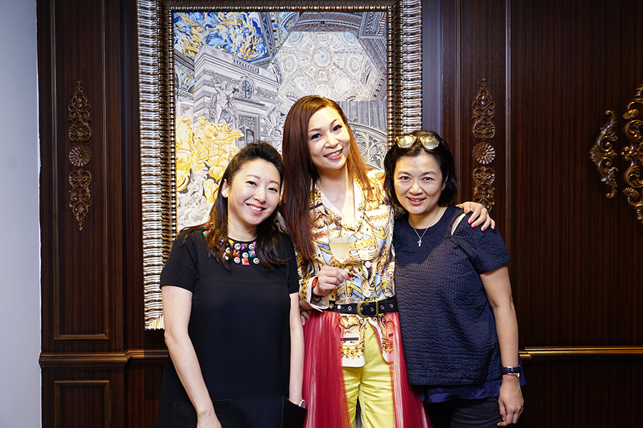 Ms. Winnie Chan, Dr. Margaret Lee & Ms. Tin Yan Chung